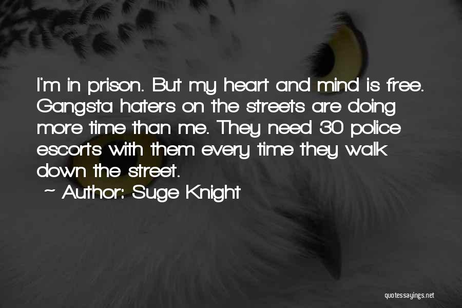 Gangsta Quotes By Suge Knight