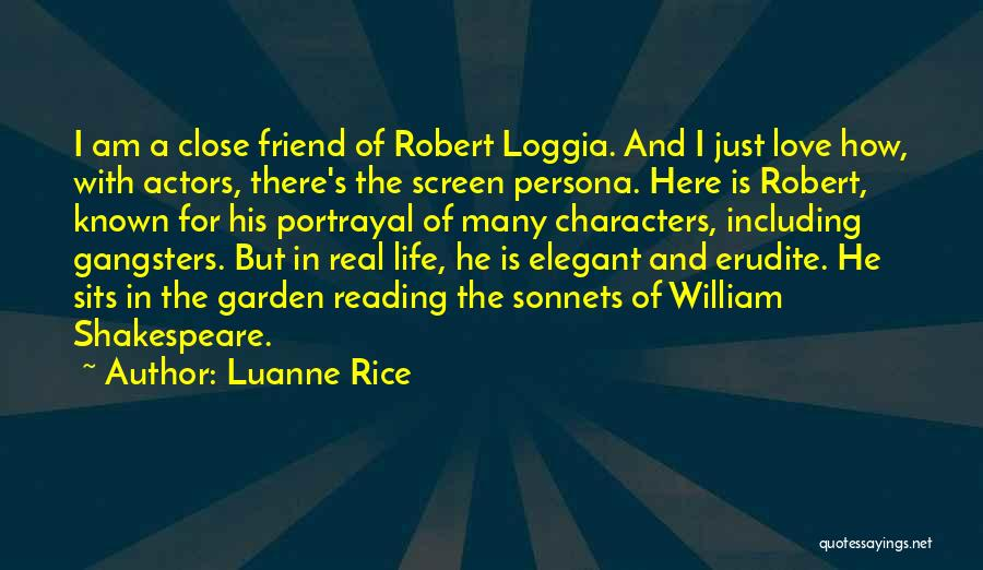 Gangsters Love Quotes By Luanne Rice