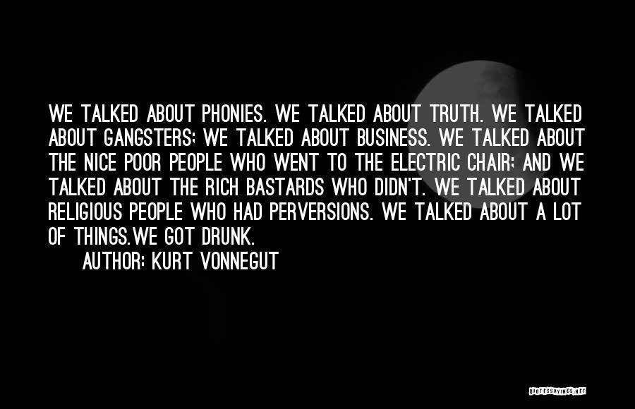 Gangsters Quotes By Kurt Vonnegut