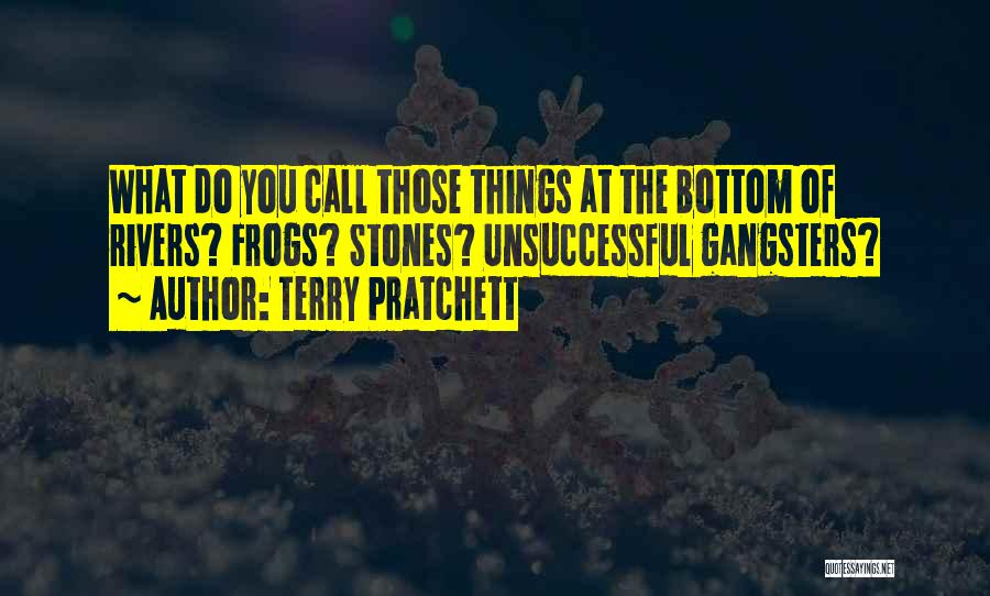 Gangsters Quotes By Terry Pratchett