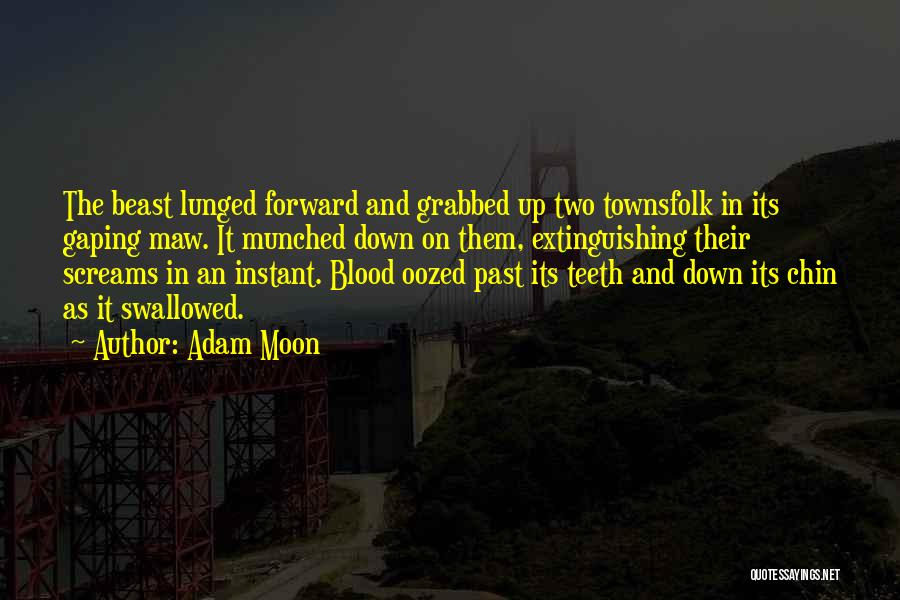 Gaping Quotes By Adam Moon