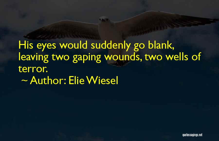 Gaping Quotes By Elie Wiesel