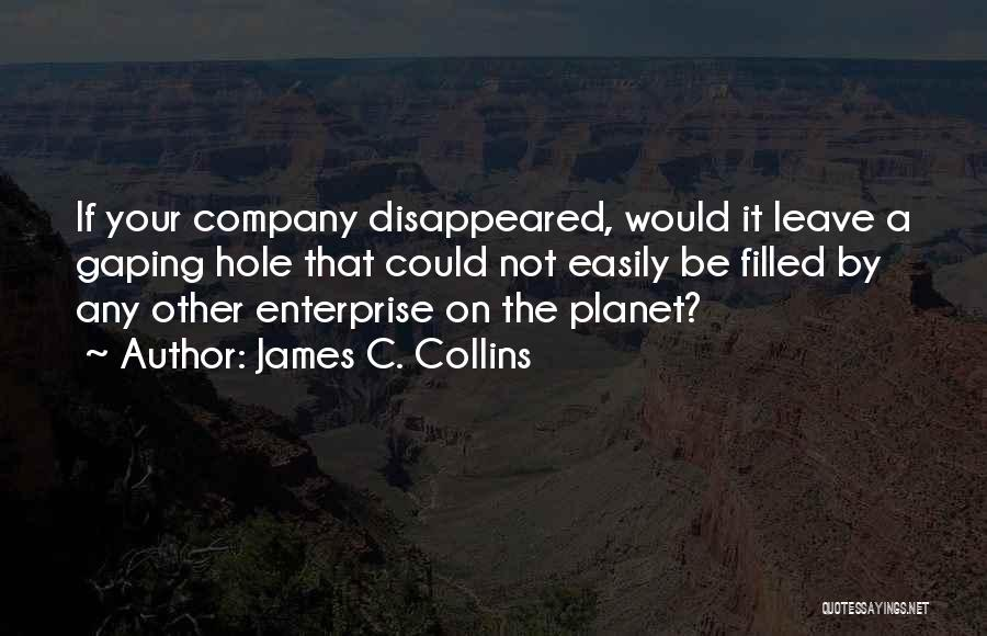Gaping Quotes By James C. Collins