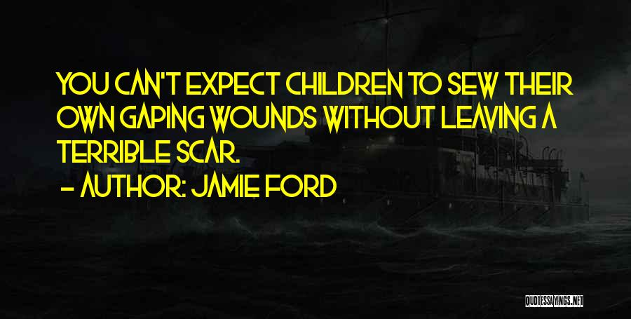 Gaping Quotes By Jamie Ford