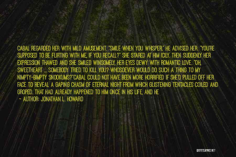 Gaping Quotes By Jonathan L. Howard