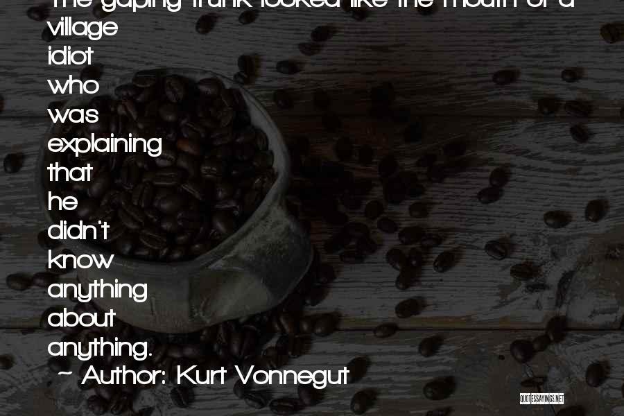 Gaping Quotes By Kurt Vonnegut