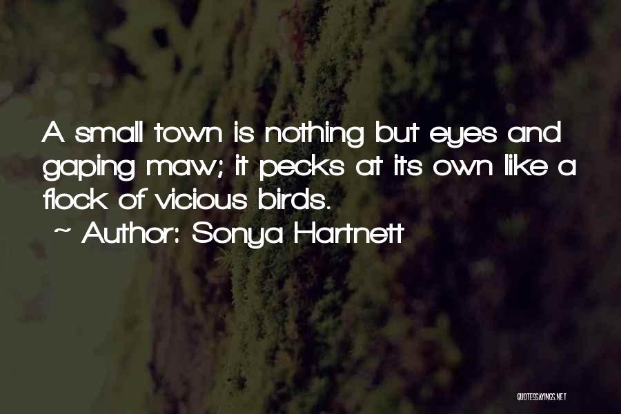 Gaping Quotes By Sonya Hartnett