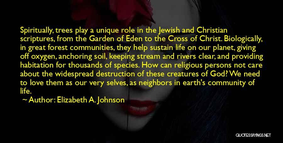Garden Care Quotes By Elizabeth A. Johnson