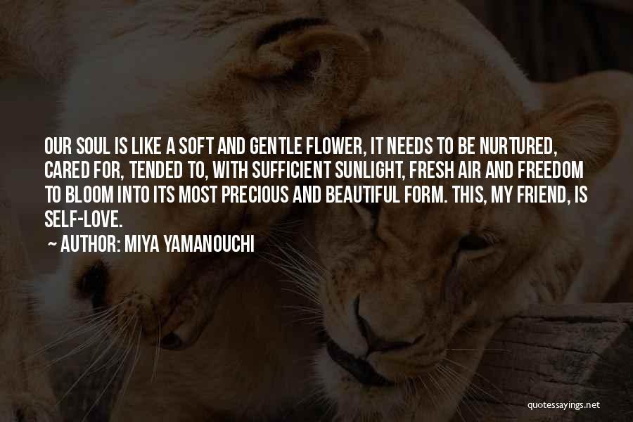 Garden Care Quotes By Miya Yamanouchi