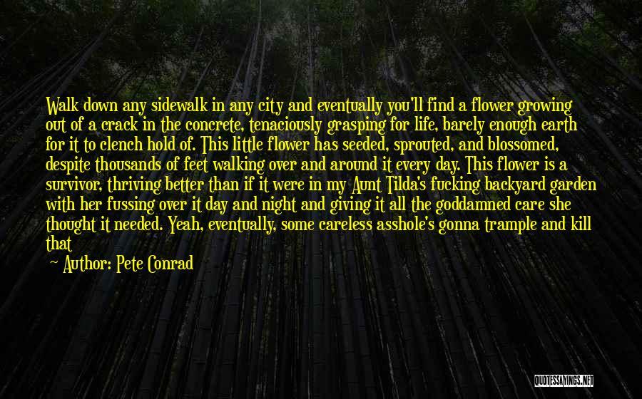Garden Care Quotes By Pete Conrad