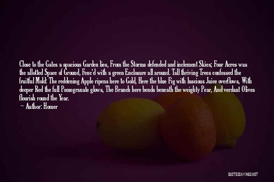 Garden Gates Quotes By Homer