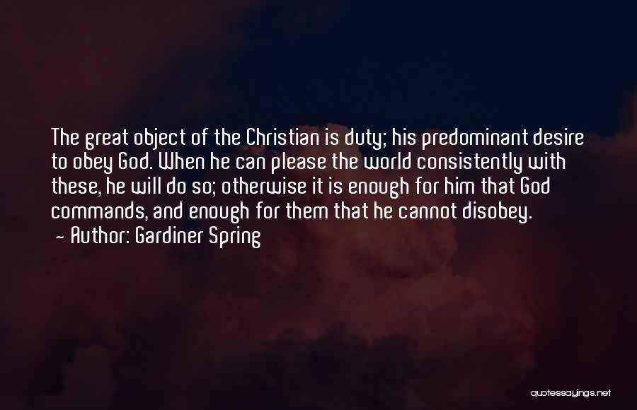 Gardiner Spring Quotes 350216