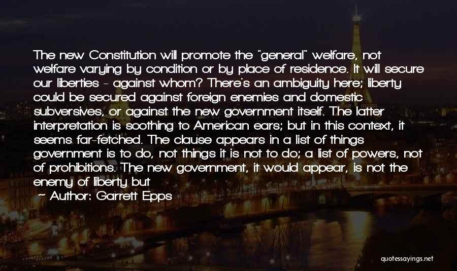 Garrett Epps Quotes 196766