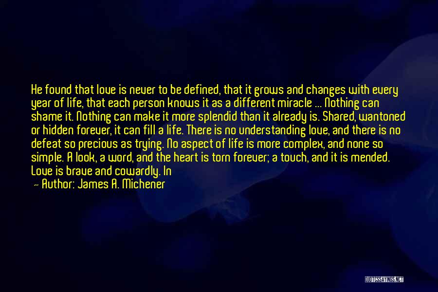 Garrulous Quotes By James A. Michener