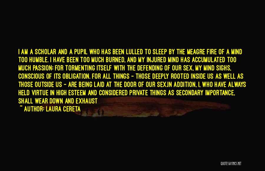 Garrulous Quotes By Laura Cereta