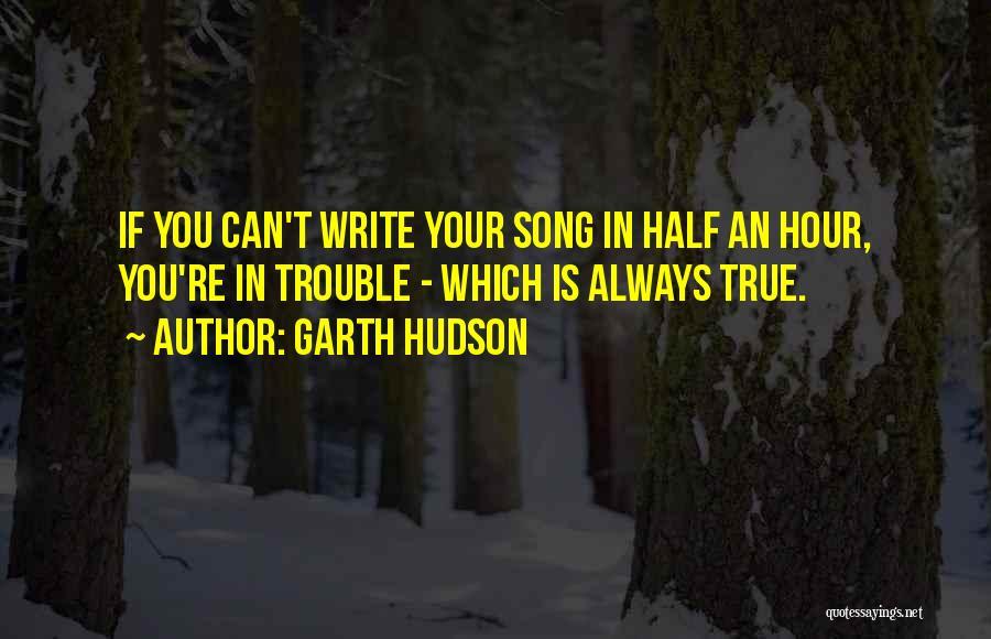 Garth Hudson Quotes 1600479