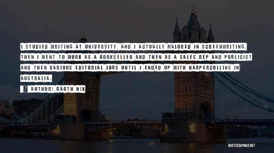 Garth Nix Quotes 221933