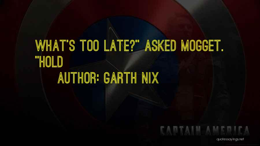 Garth Nix Quotes 304140
