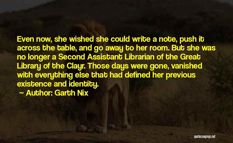Garth Nix Quotes 77454