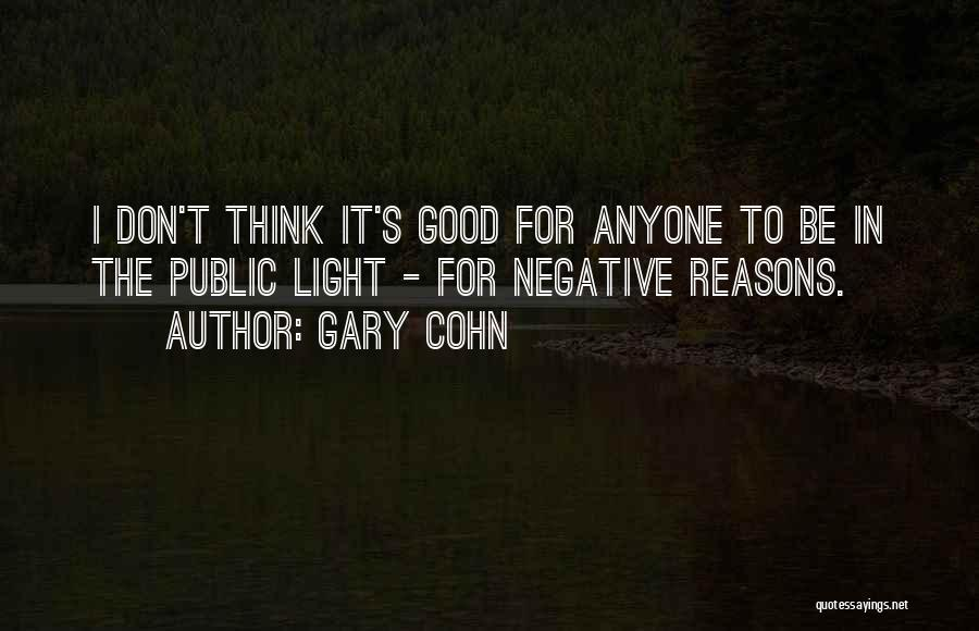 Gary Cohn Quotes 252415