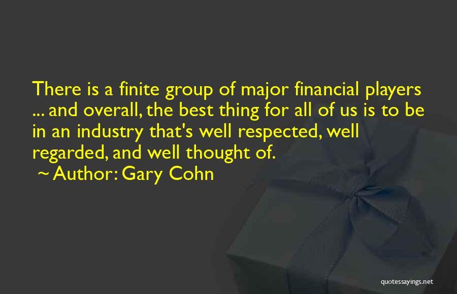 Gary Cohn Quotes 537554