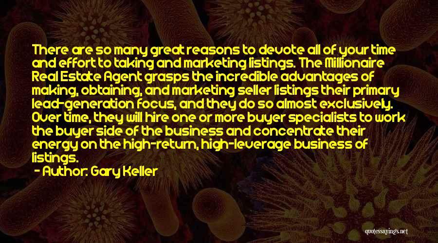 Gary Keller Quotes 817417