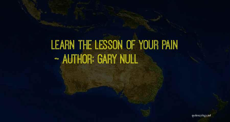 Gary Null Quotes 274939