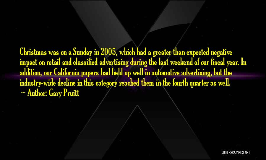 Gary Pruitt Quotes 1235686