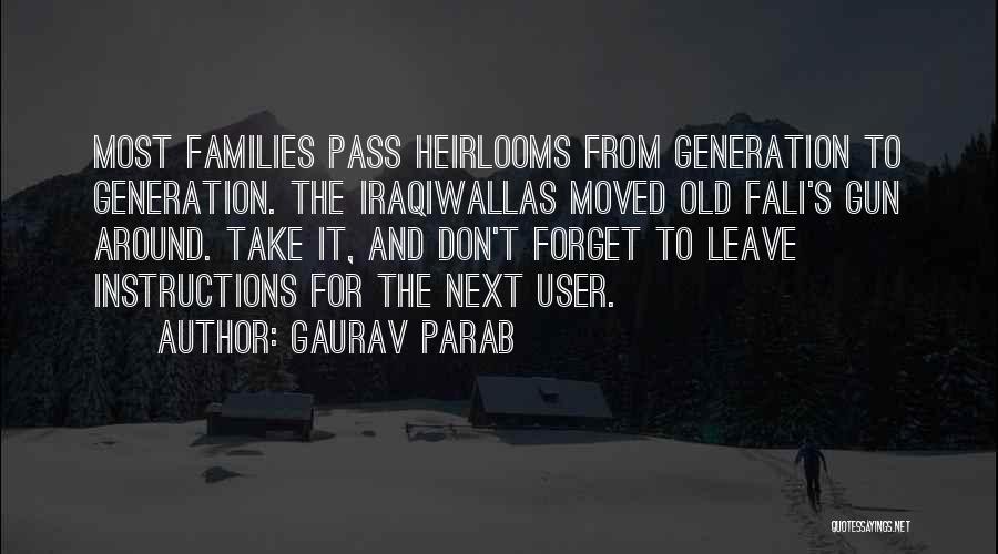 Gaurav Parab Quotes 1687700