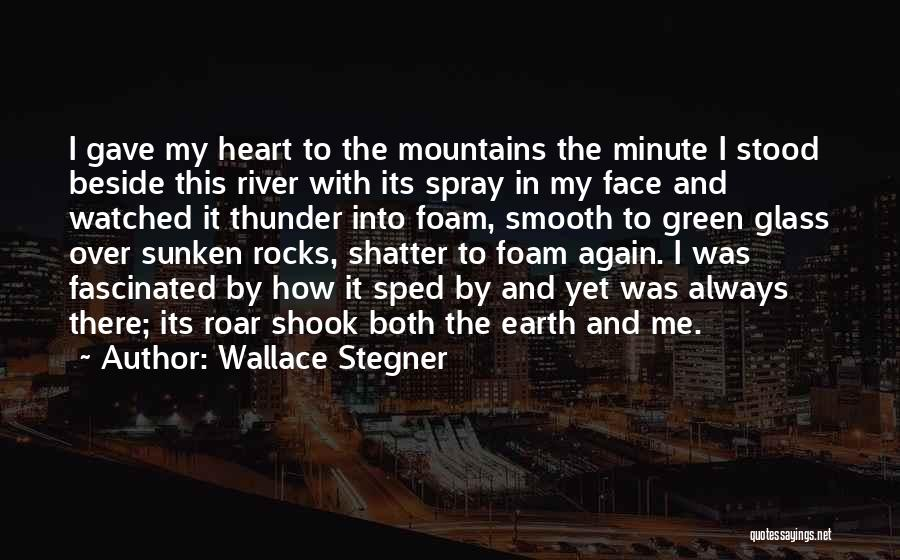 Gave My Heart Quotes By Wallace Stegner