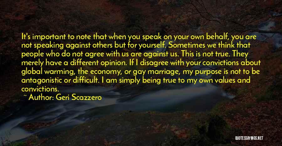Gay Marriage Quotes By Geri Scazzero