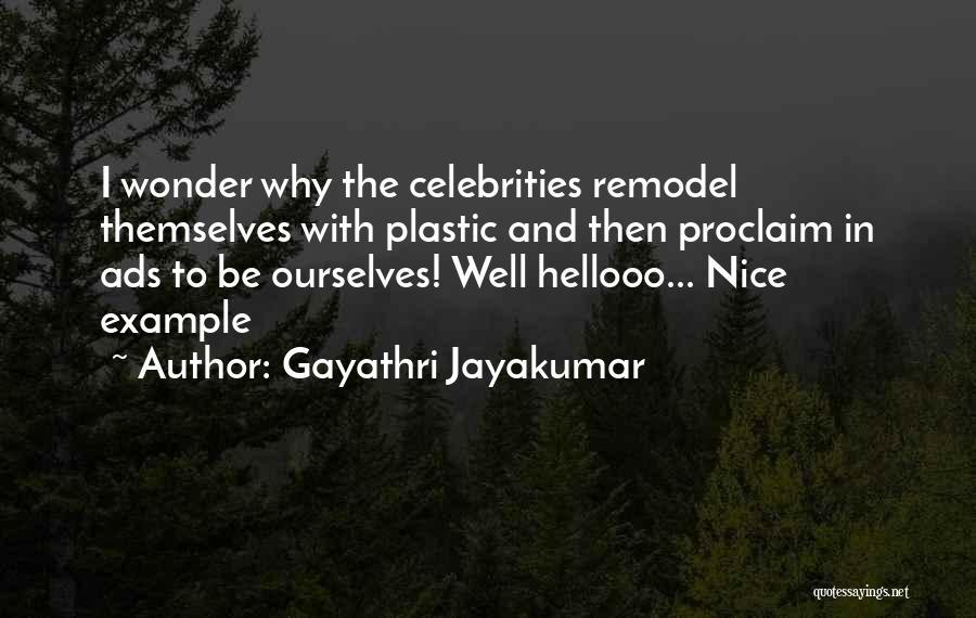 Gayathri Jayakumar Quotes 1956900