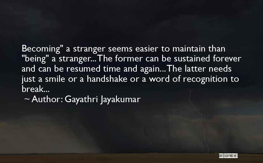 Gayathri Jayakumar Quotes 727660