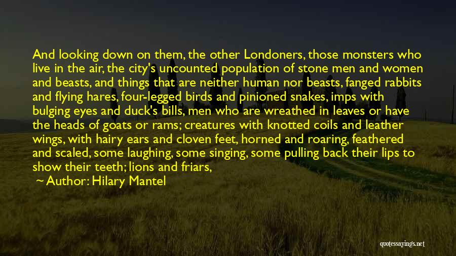 Geese Flying Quotes By Hilary Mantel