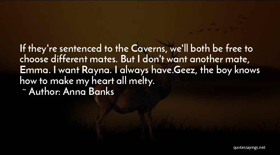 Geez Quotes By Anna Banks