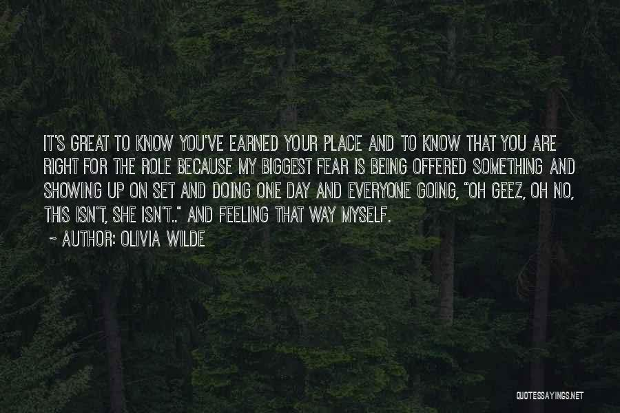 Geez Quotes By Olivia Wilde