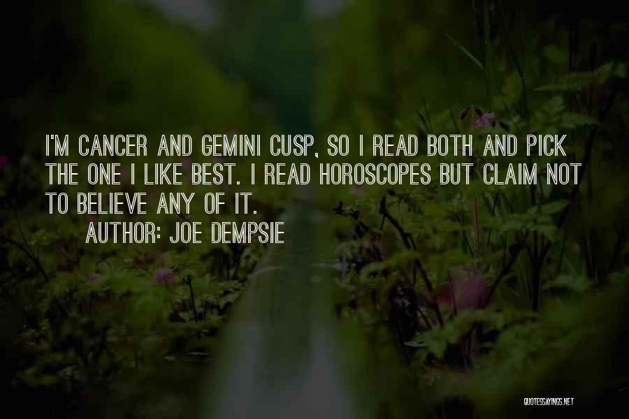 Top 1 Gemini Cancer Cusp Quotes & Sayings