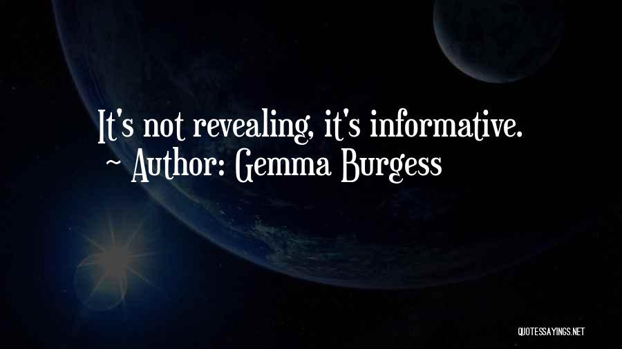 Gemma Burgess Quotes 1051322