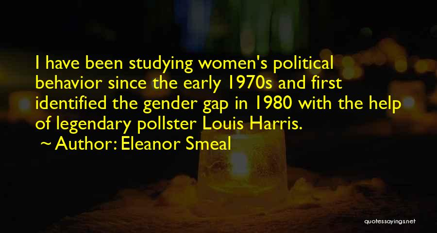 Gender Gap Quotes By Eleanor Smeal