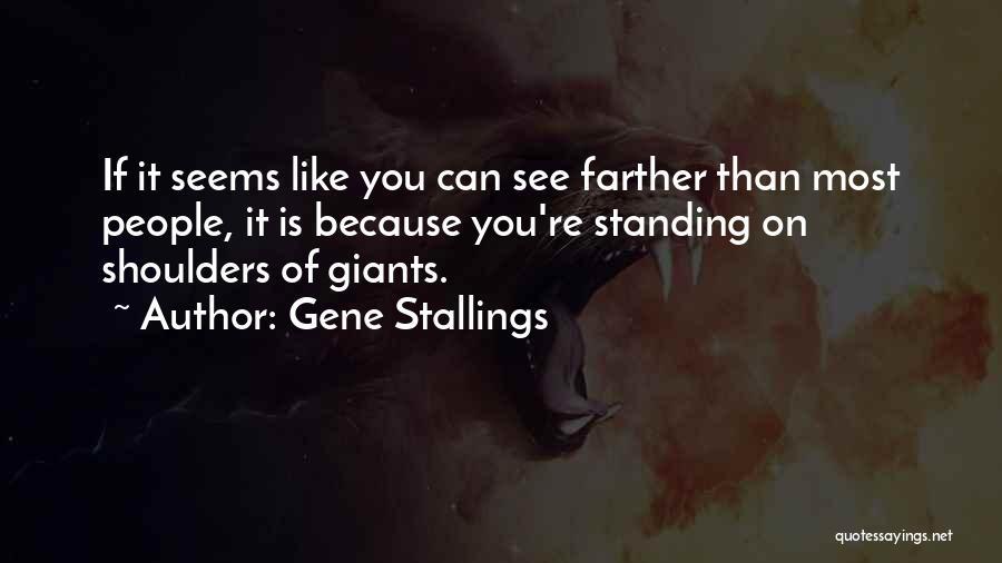 Gene Stallings Quotes 979252