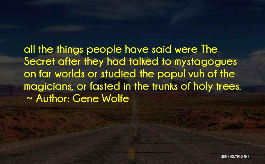 Gene Wolfe Quotes 1357427
