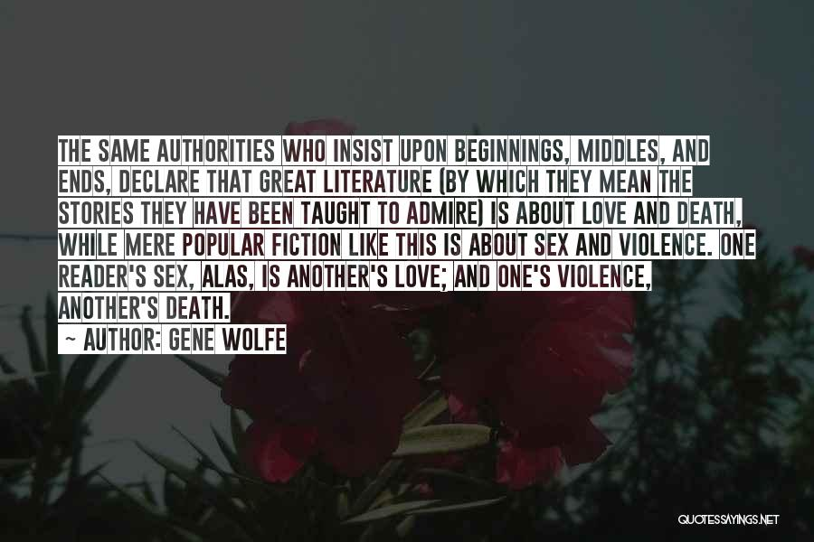 Gene Wolfe Quotes 834290