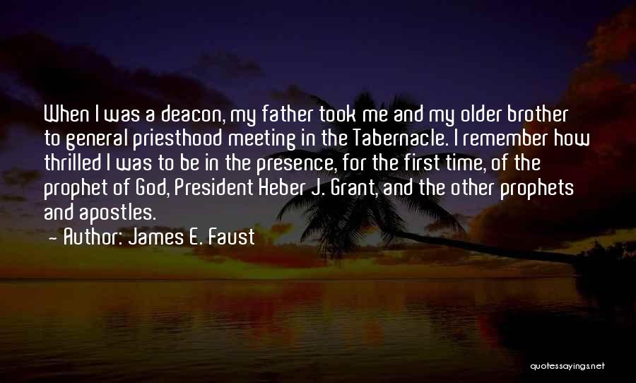 General Grant's Quotes By James E. Faust