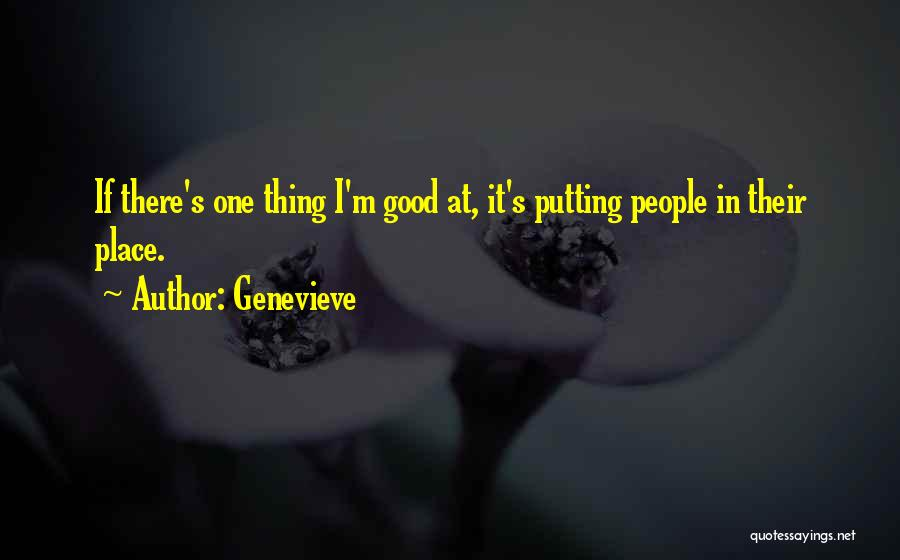 Genevieve Quotes 724417