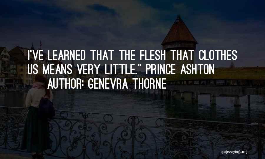 Genevra Thorne Quotes 2088090
