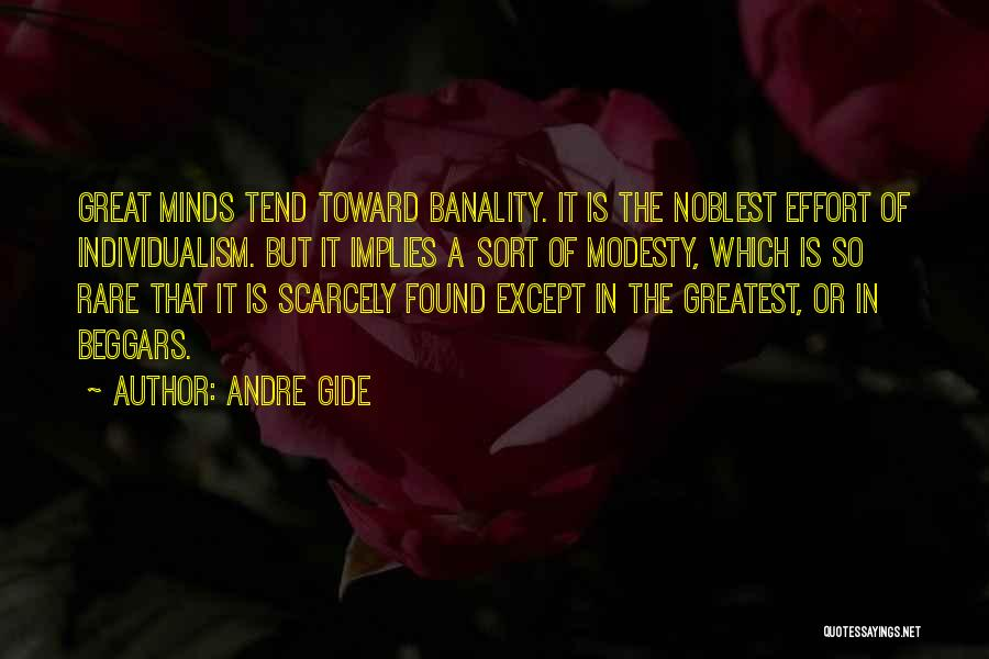 Genius Mind Quotes By Andre Gide