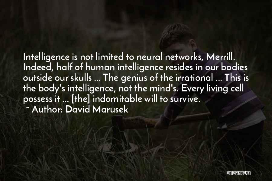 Genius Mind Quotes By David Marusek