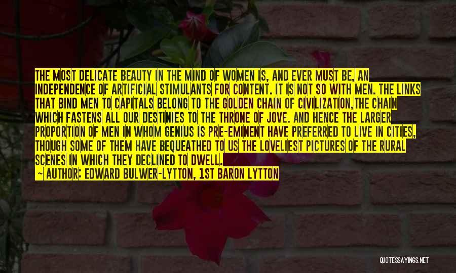 Genius Mind Quotes By Edward Bulwer-Lytton, 1st Baron Lytton
