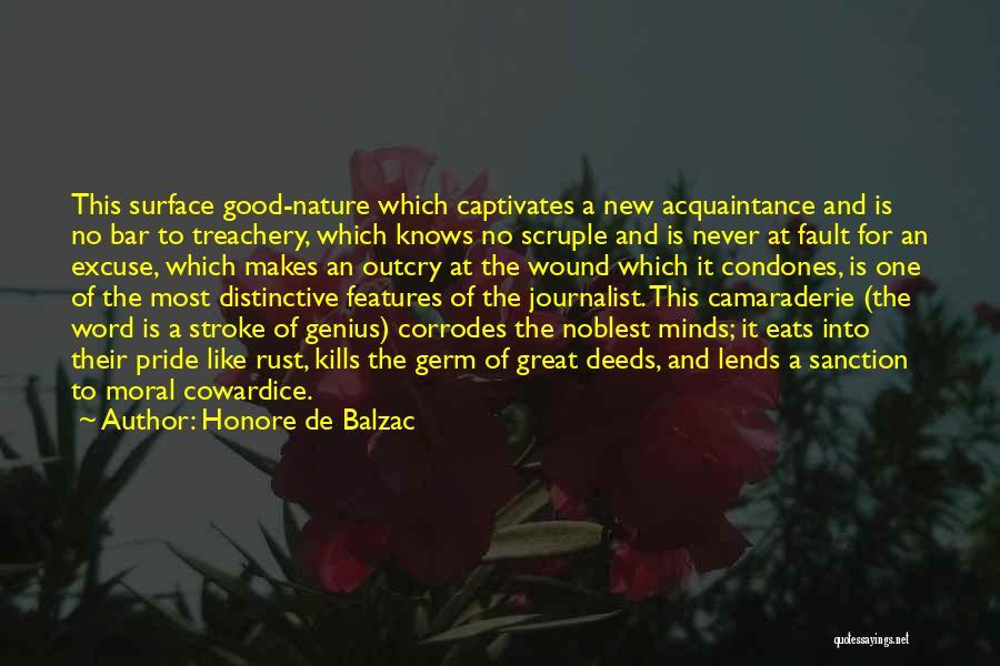 Genius Mind Quotes By Honore De Balzac