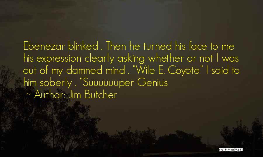 Genius Mind Quotes By Jim Butcher
